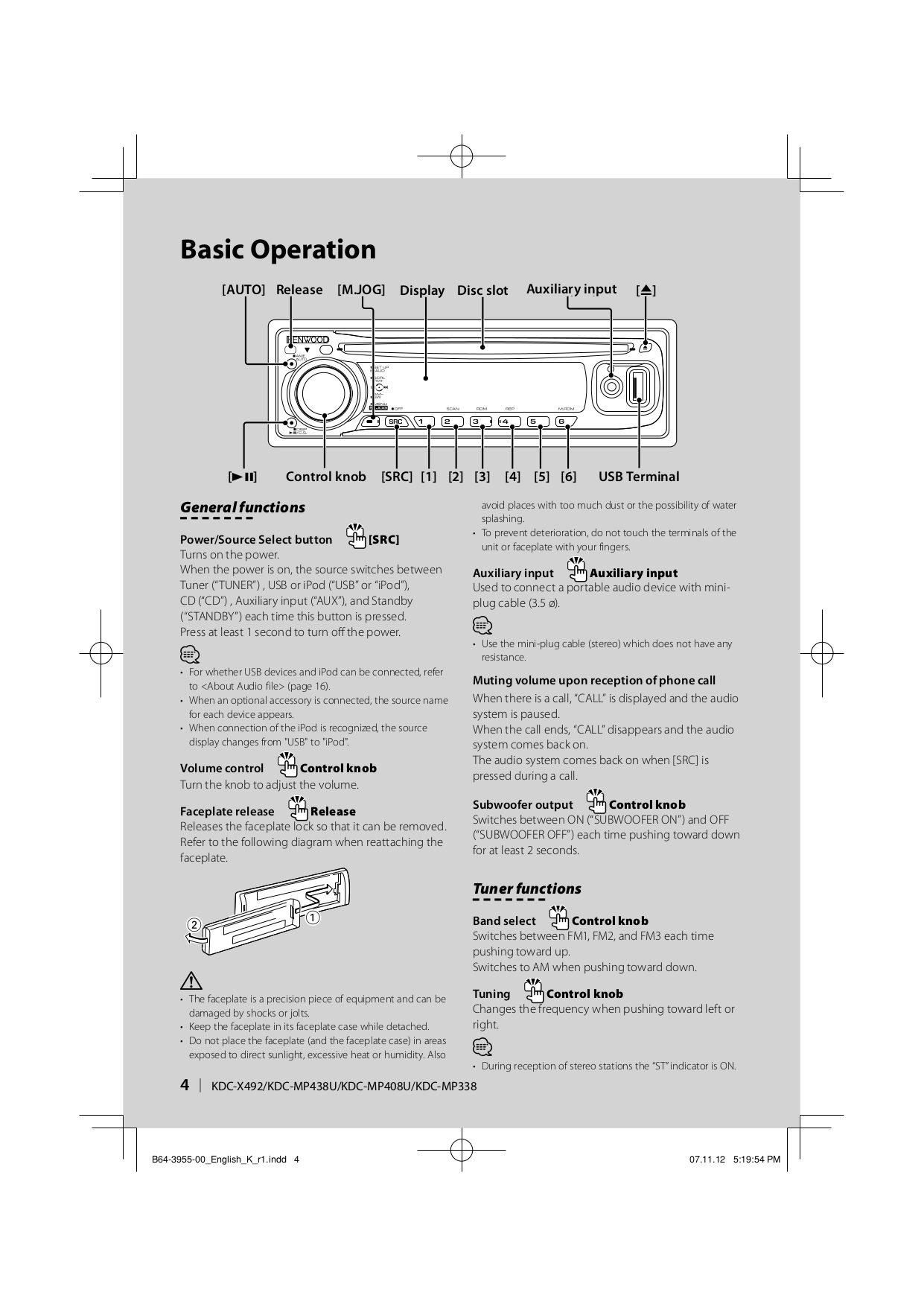 Wiring Diagram Kenwood Kdc Mp438u Explained Diagrams X492 Mp338 Manual Guide Example 2018 U2022