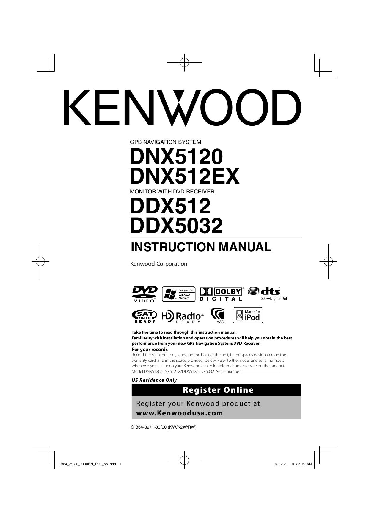 download free pdf for kenwood ddx512 car receiver manual rh umlib com Kenwood Head Unit Kenwood DDX 512 USB