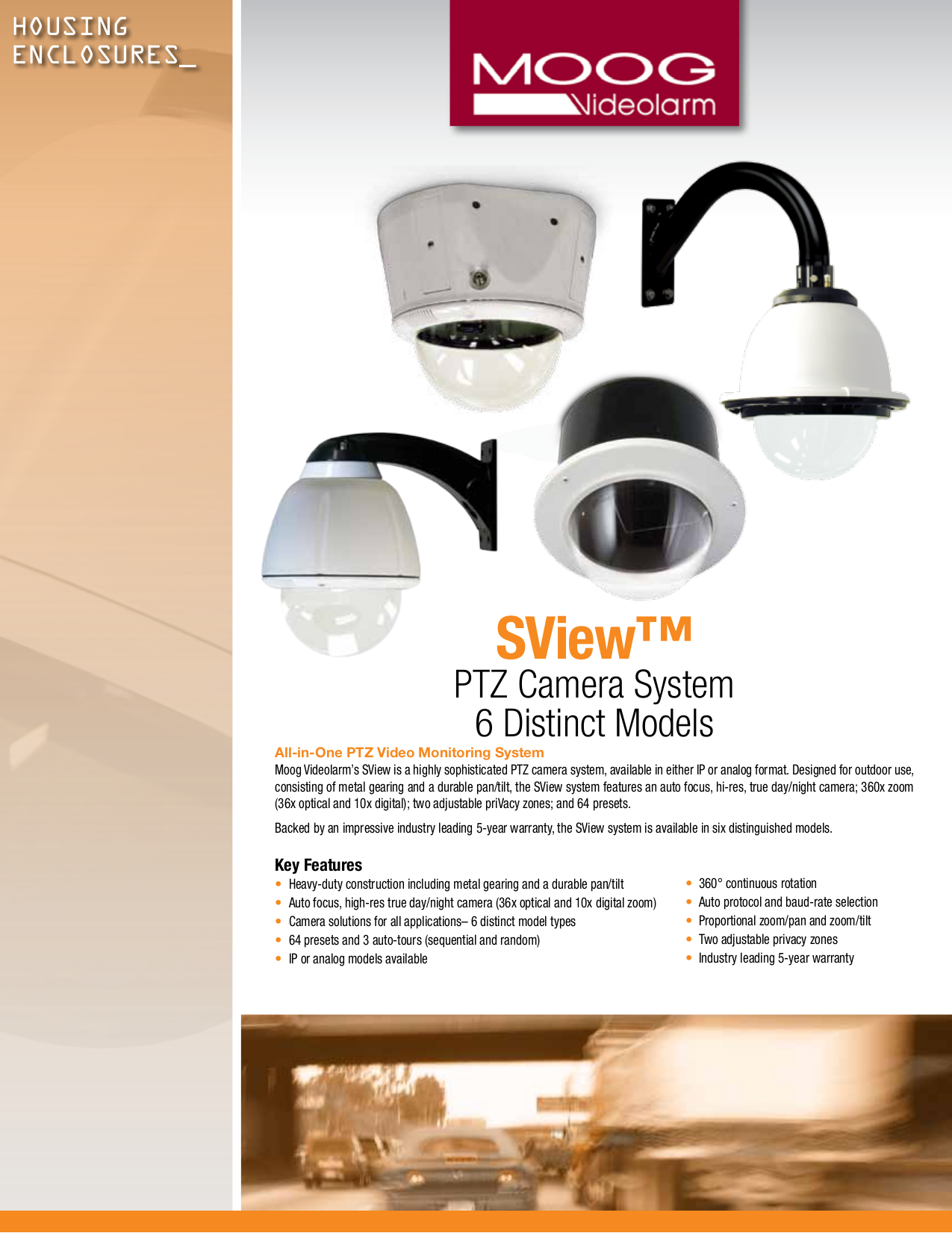 pdf for Videolarm Security Camera SView FDP7CS-3 manual