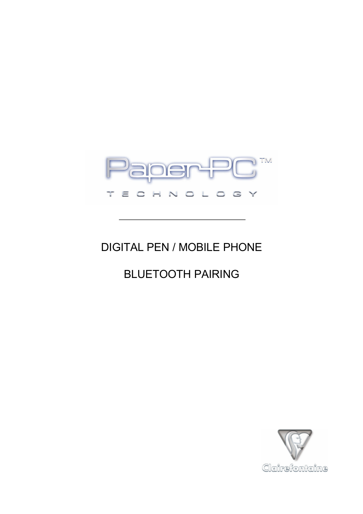 pdf for Nokia Other SU-1B Digital Pens manual