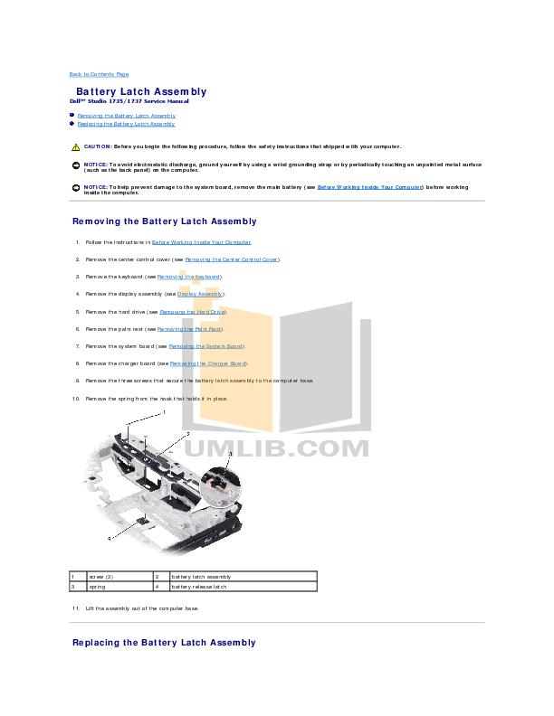 pdf manual for dell laptop studio 1537 rh umlib com Dell Studio 1749 Dell Laptop Windows 7