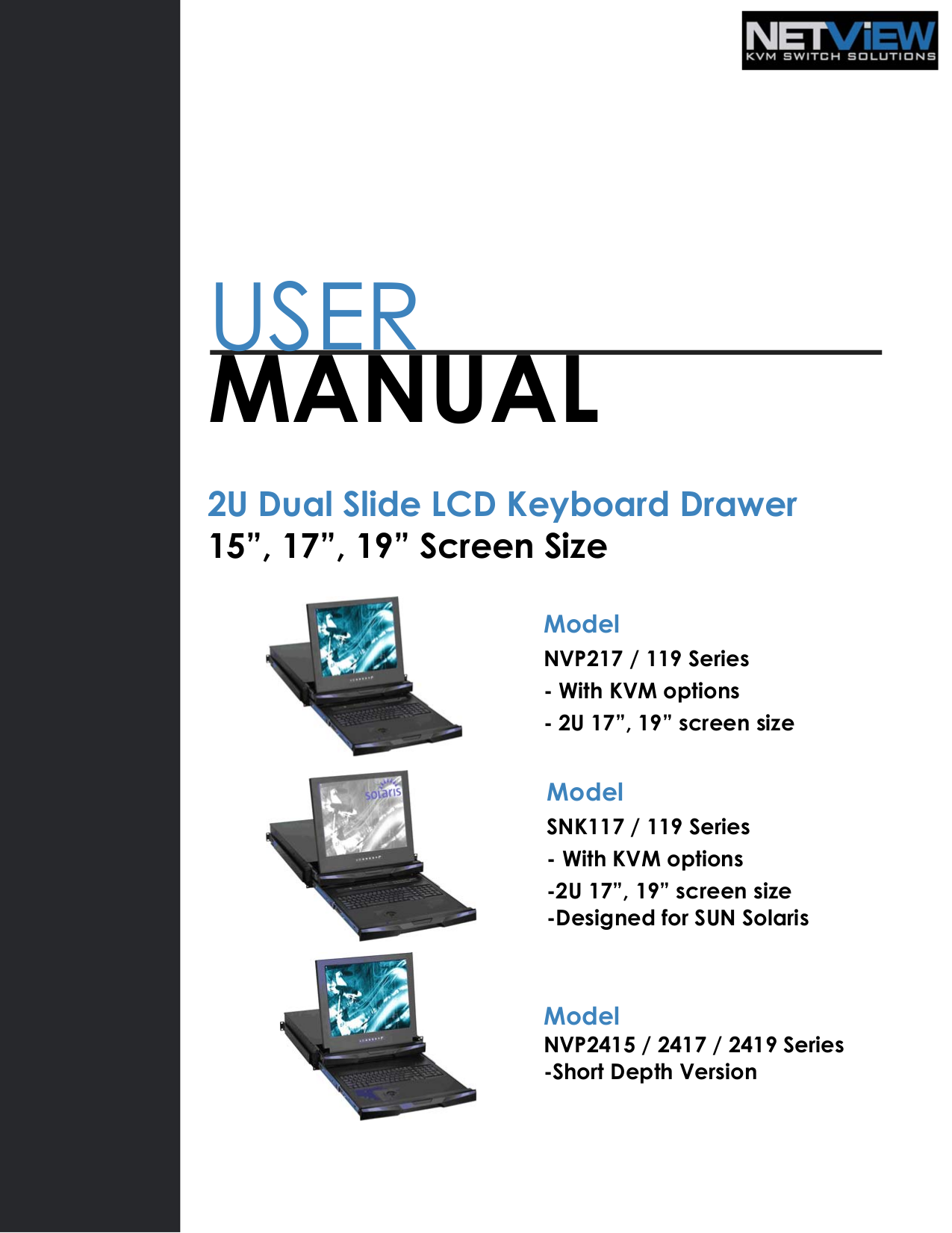 pdf for I-Tech Other RKP2415-1602 Keyboard Drawers manual