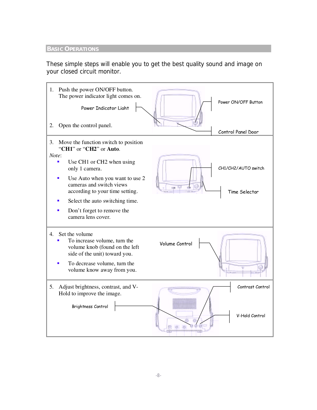 ... jWIN Security Camera JV-TV2040 pdf page preview