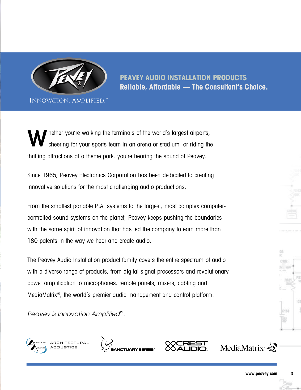 pdf for Peavey Subwoofer QW118 manual