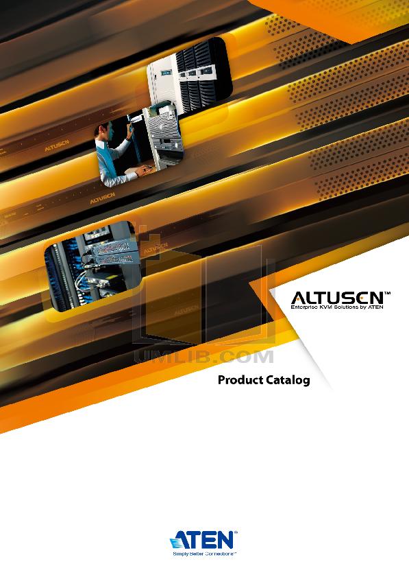 ATEN Switch Altusen KH-0116 pdf page preview