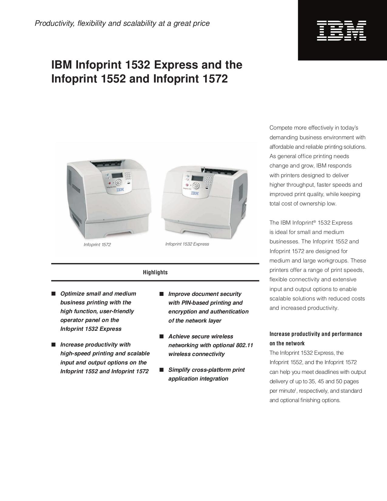 download free pdf for ibm infoprint 1532 printer manual rh umlib com ibm infoprint 1532 user manual ibm infoprint 6400 manual