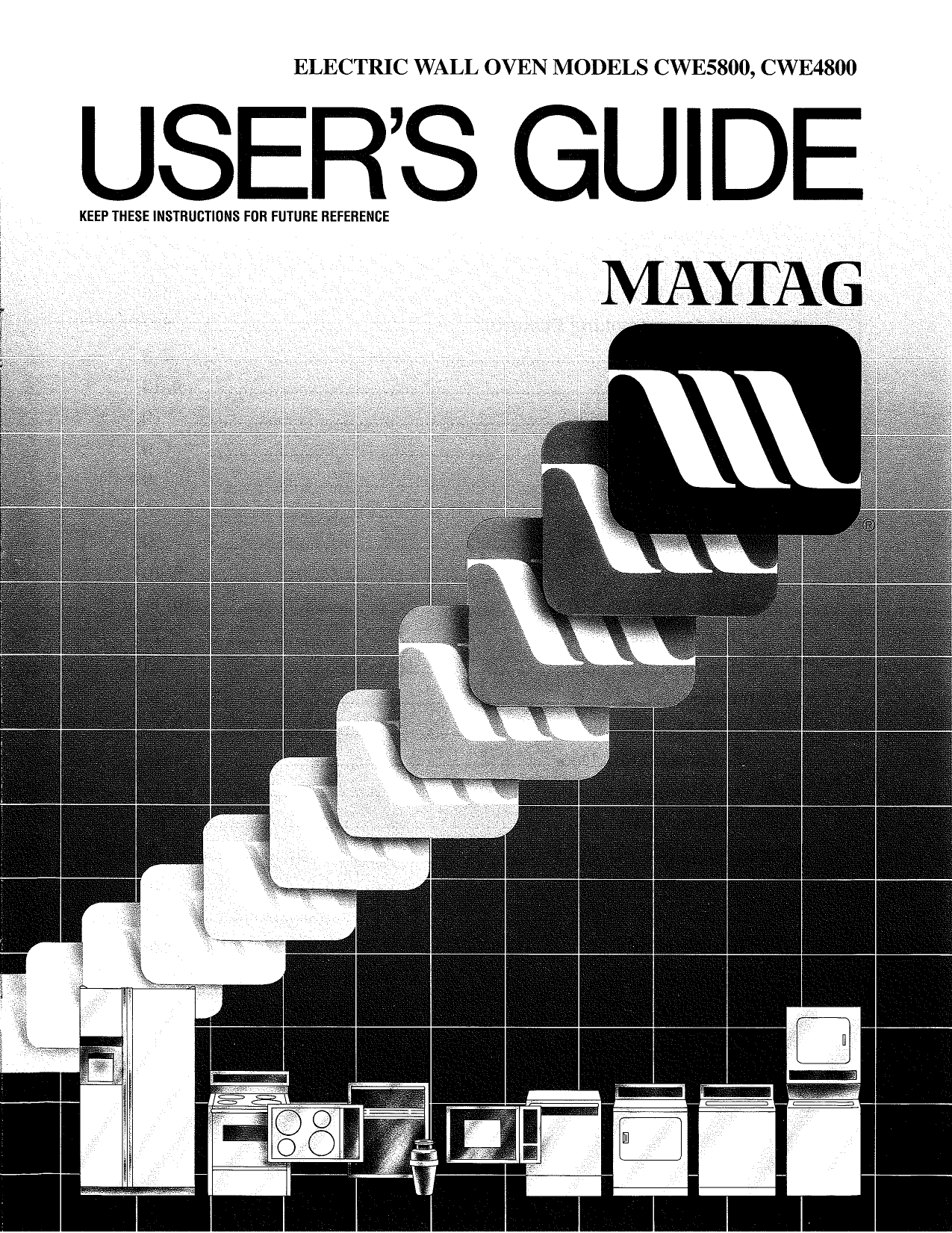 pdf for Maytag Oven CWE5800ACS manual