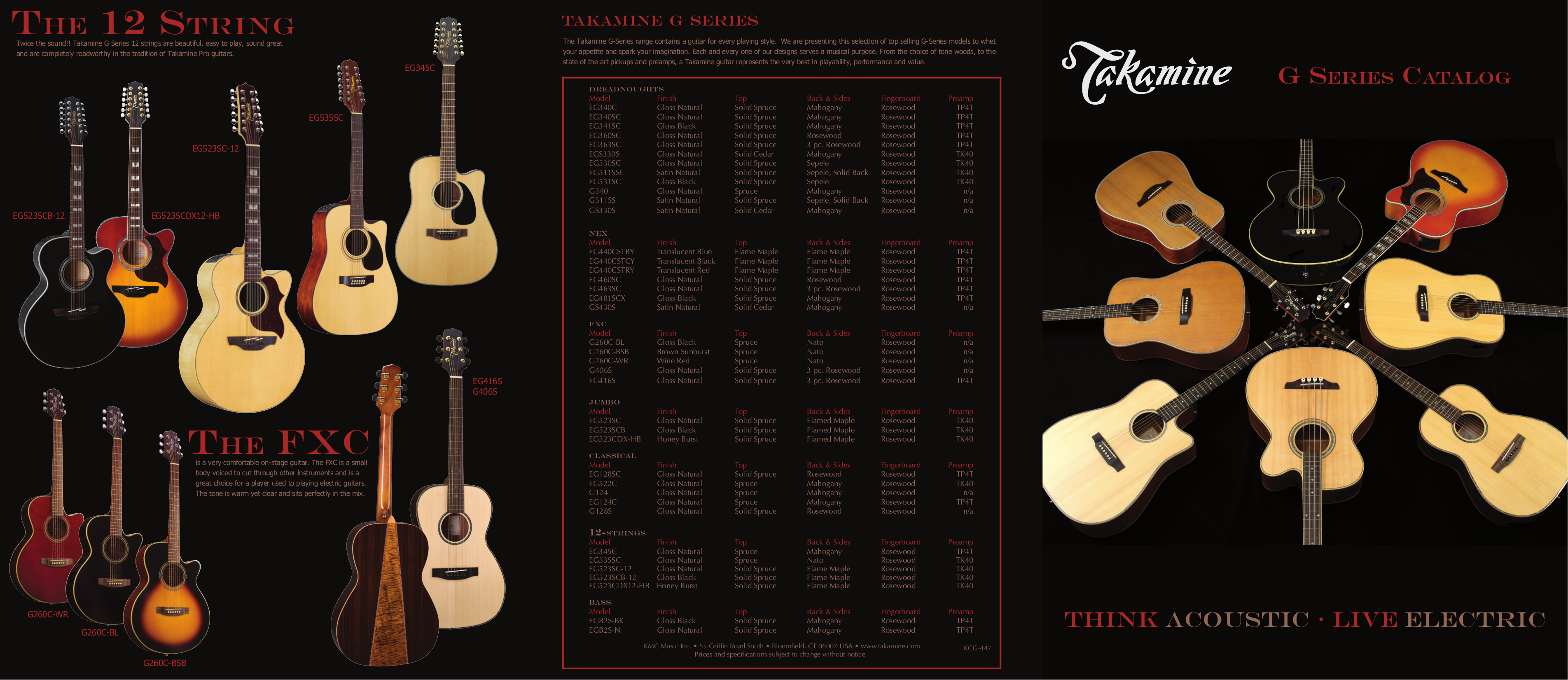 pdf for Takamine Guitar GS430S manual