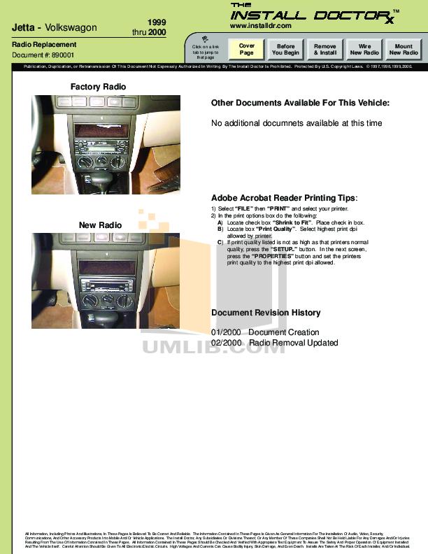 pdf for Bazooka Speaker VR6 manual