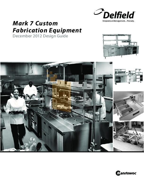 pdf for Delfield Refrigerator N-520 manual