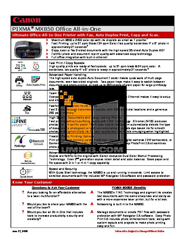 Canon mx850 fax software driver   canon ij setup download.