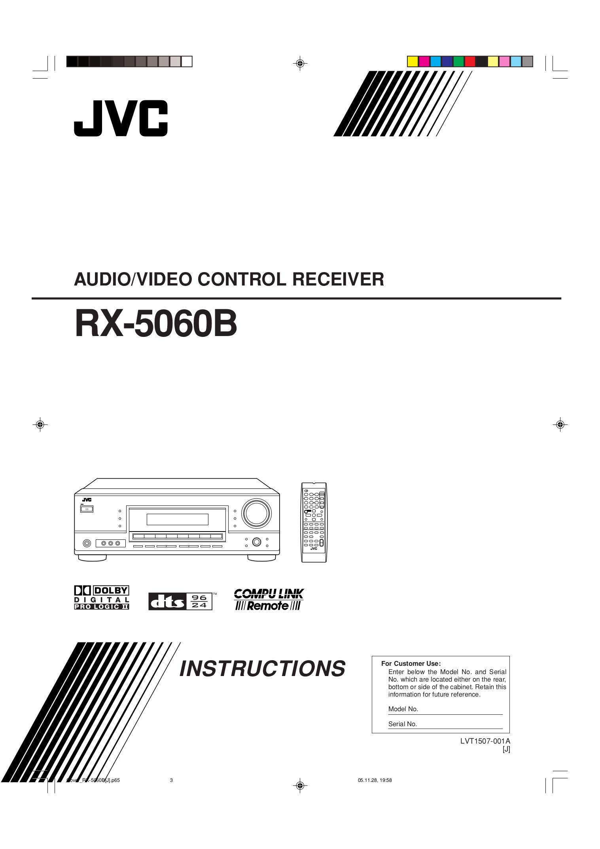 download free pdf for jvc rx 5060b receiver manual rh umlib com JVC RX300 JVC Home Receivers
