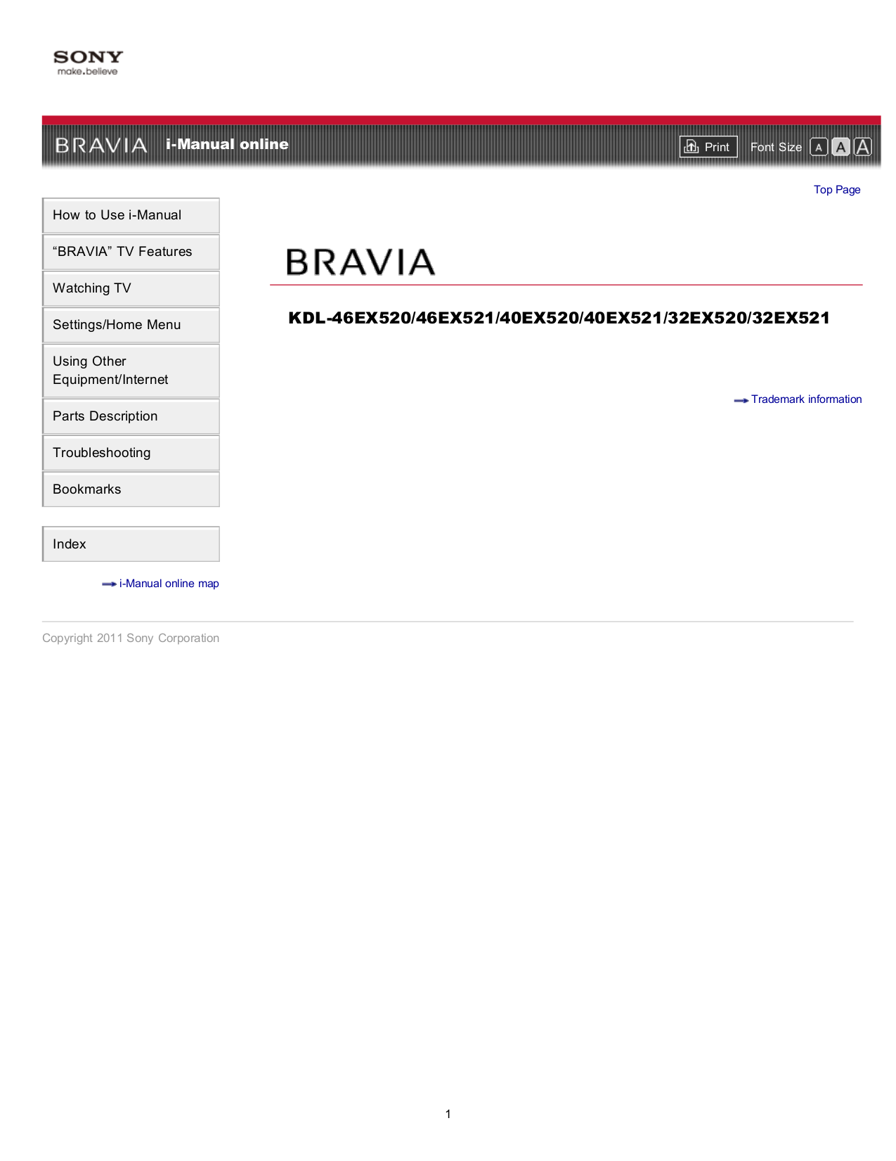 Sony i manual pdf for sony tv bravia kdl 46ex520 manual fandeluxe Images