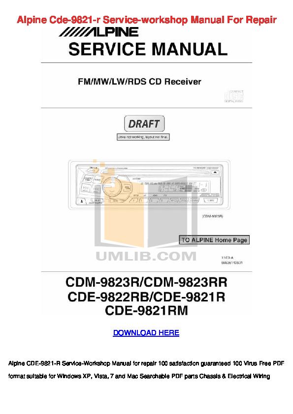 download free pdf for alpine mrp m850 car amplifier manual rh umlib com 4 Channel Car Amplifier alpine car stereo user manual