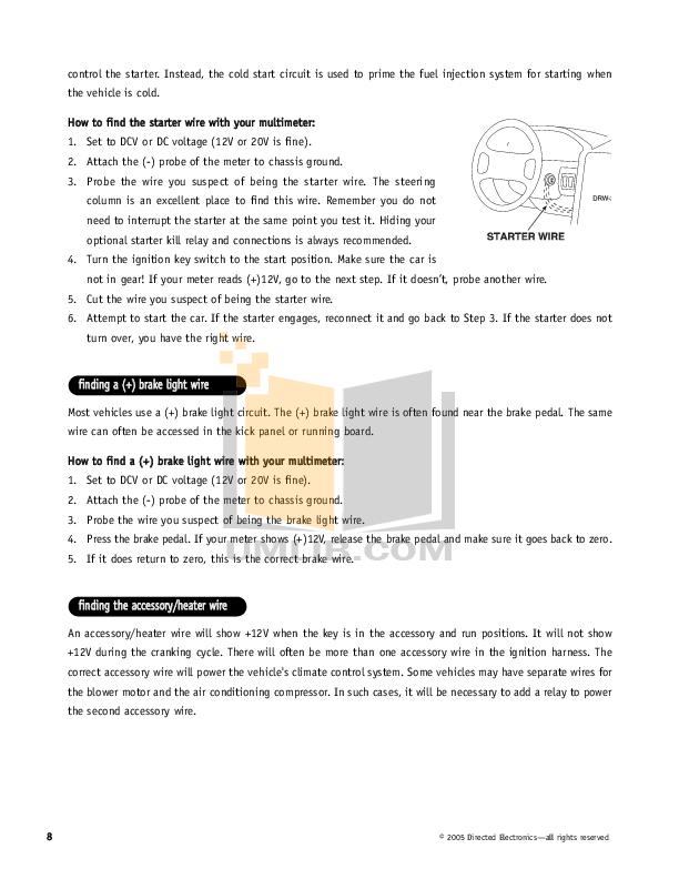 starting system pdf