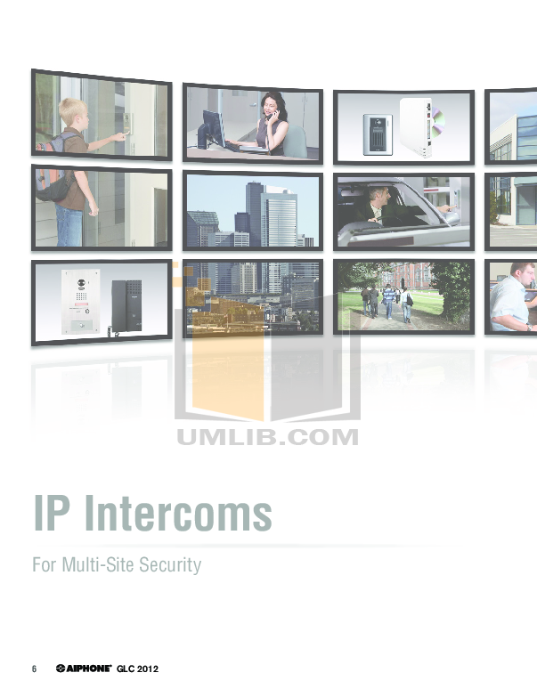 Aiphone Other LE-Bn Intercoms pdf page preview
