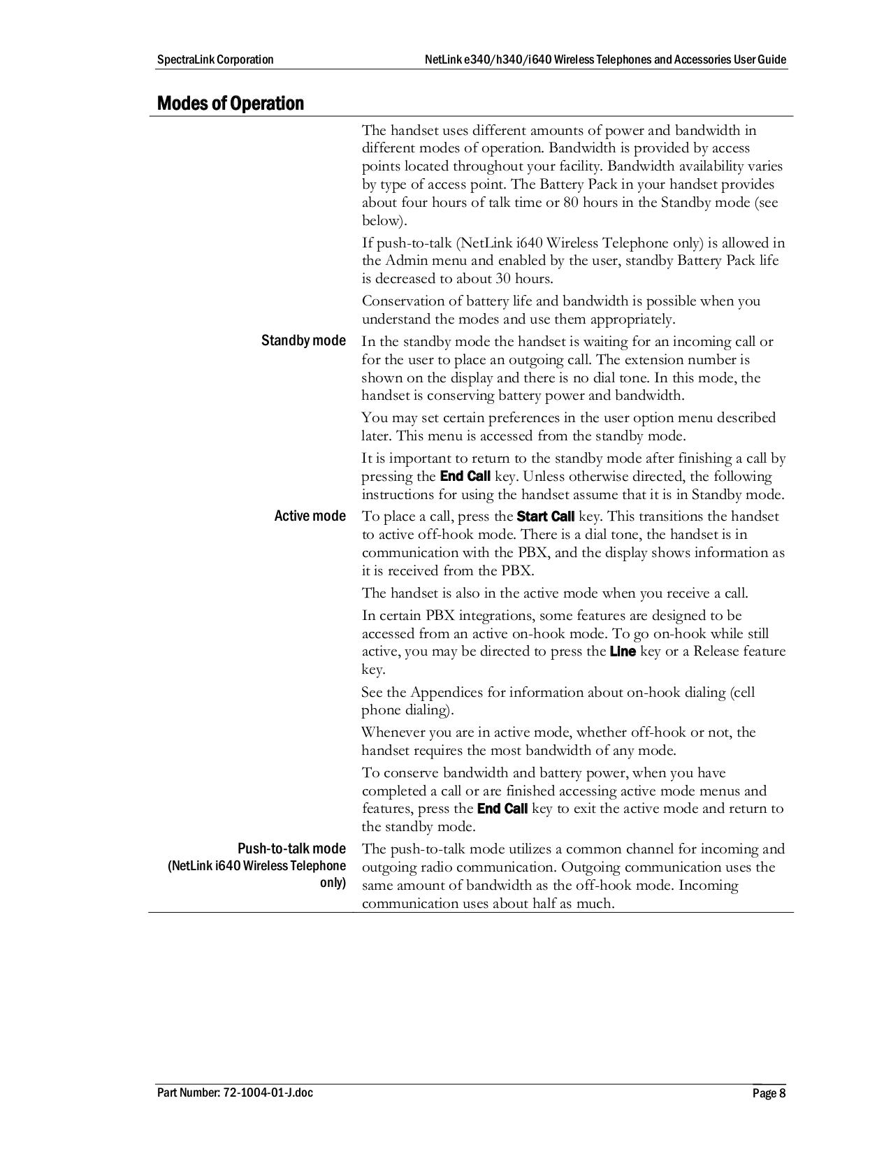 PDF manual for SpectraLink Other NetLink GCX100 Battery Charger