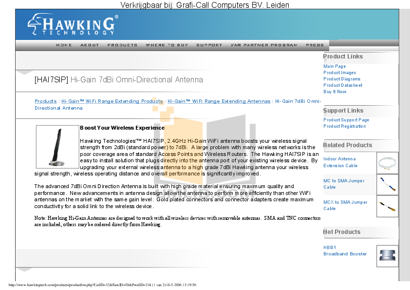 pdf for Hawking Router HAI7SIP manual