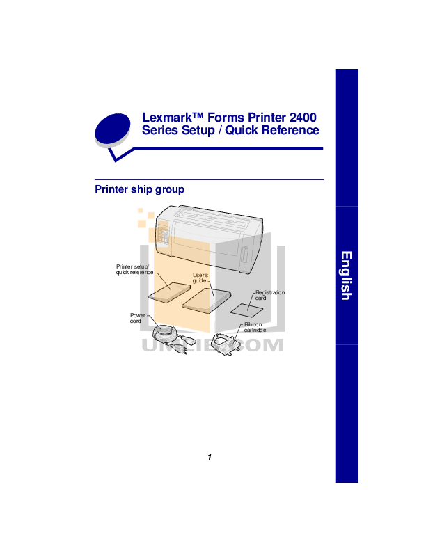 pdf for Brother Printer PT-2480 manual