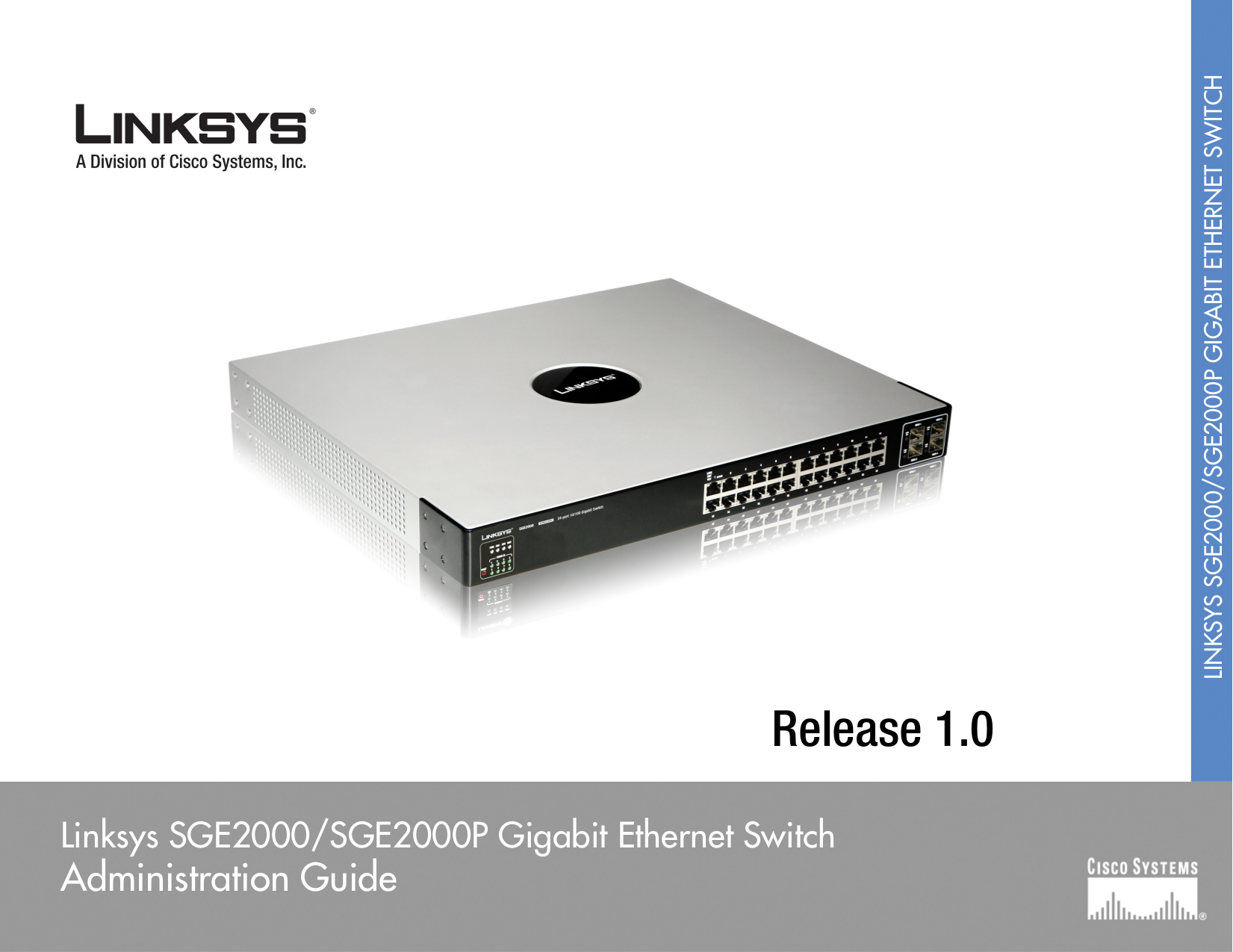 pdf for Linksys Switch SGE2000P manual