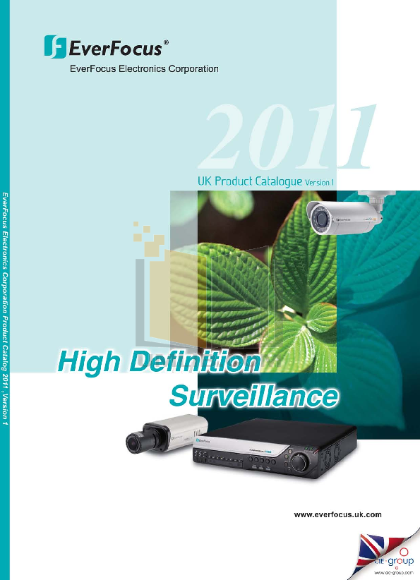 pdf for EverFocus Security Camera EDH5240 manual