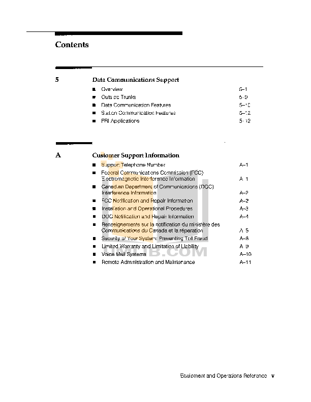 Avaya Telephone MLX10 pdf page preview