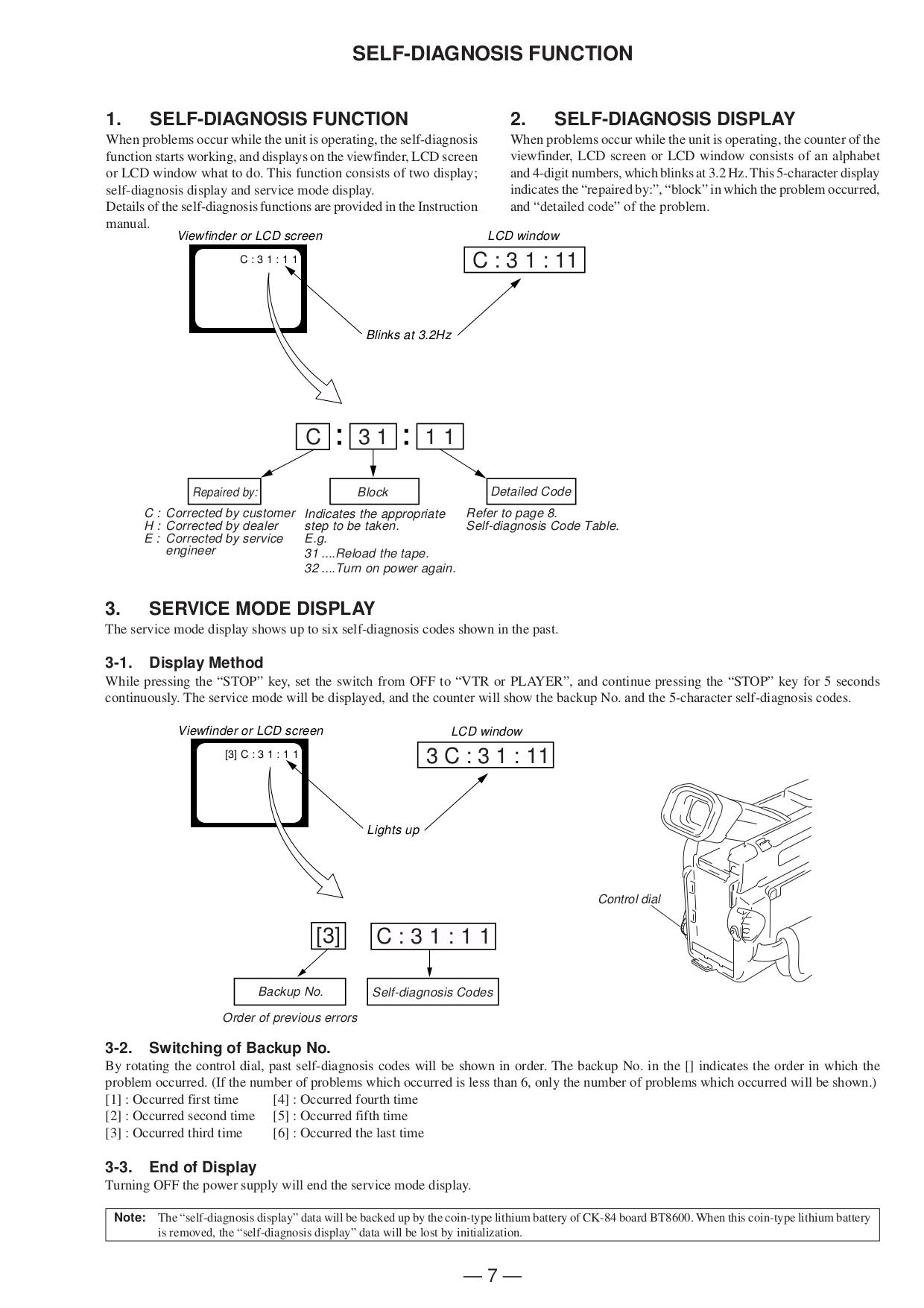 PDF manual for Sony Camcorders Handycam DCR-TRV8