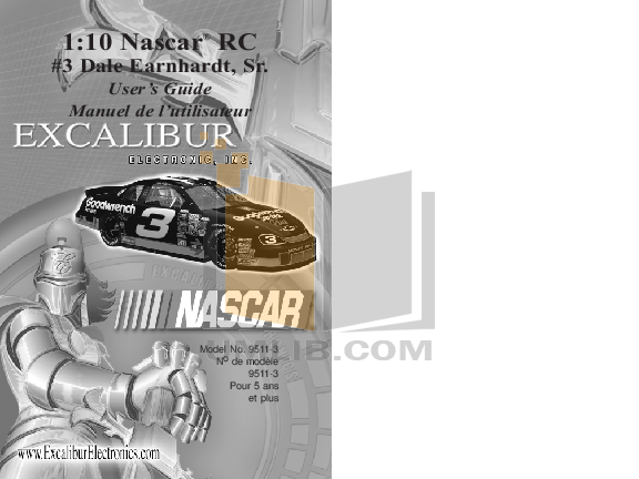 pdf for Excalibur Other 9511-3 Remote Controlled Car manual