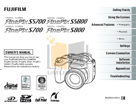 download free pdf for fujifilm finepix s5 pro digital camera manual rh umlib com