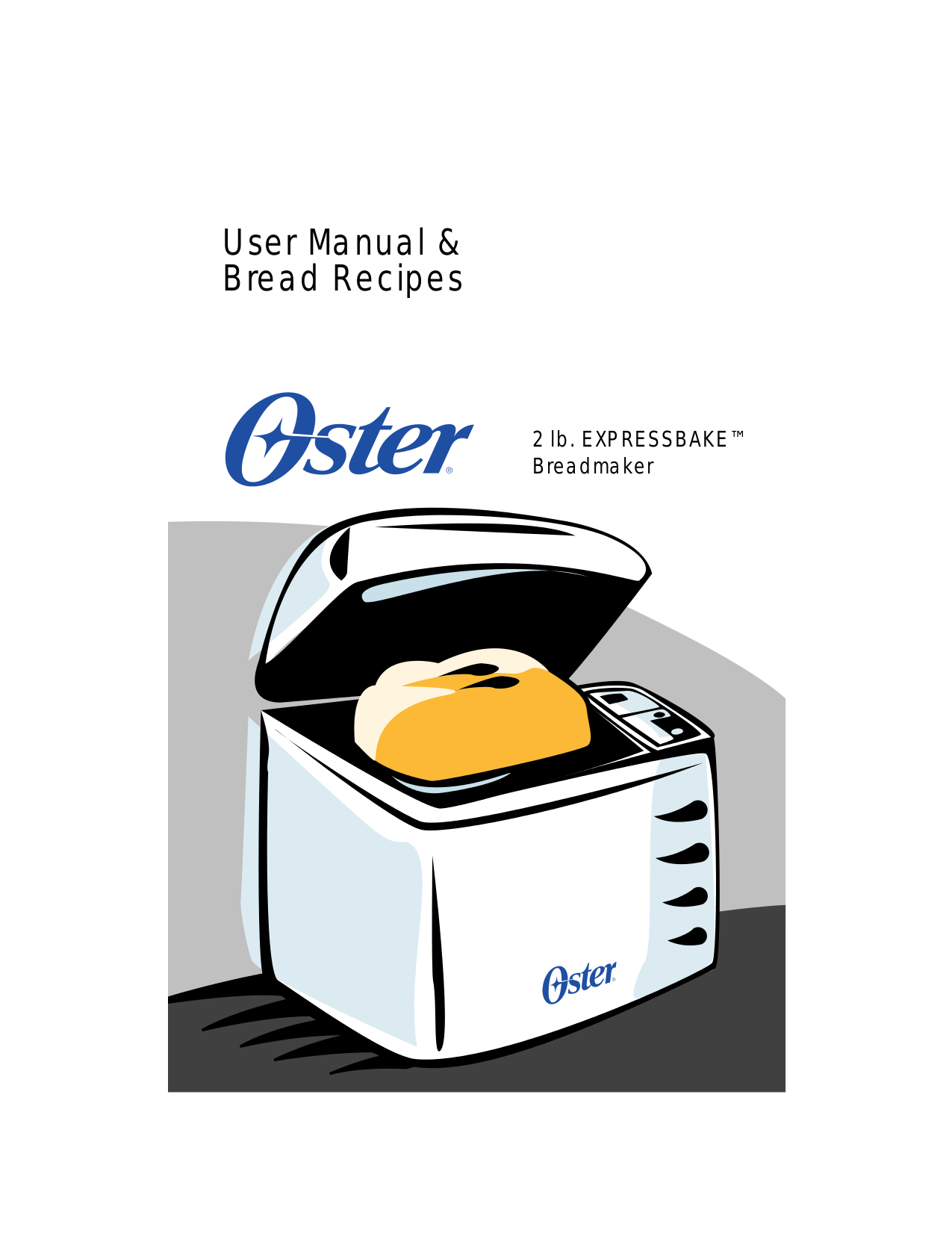 how to use oster bread maker