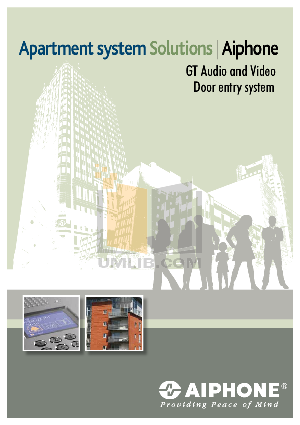 pdf for Aiphone Other GF-3B Intercoms manual