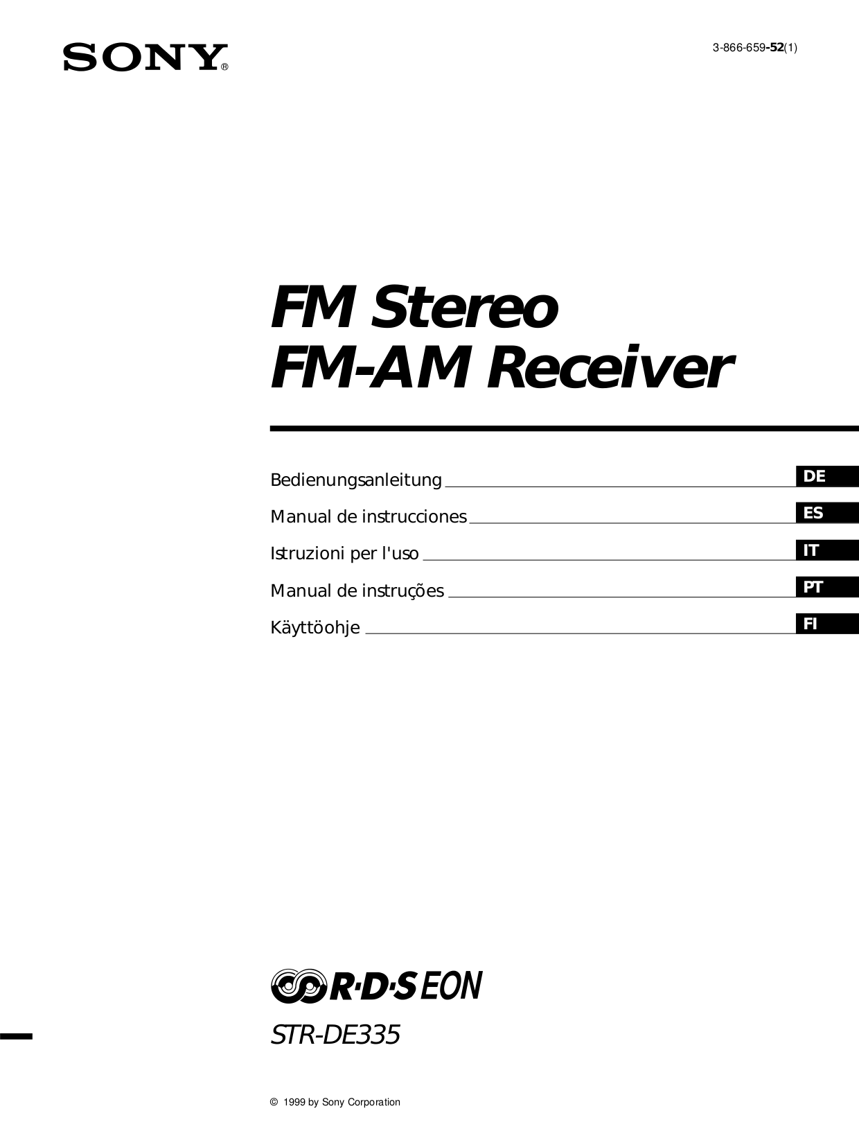 Download Free Pdf For Sony Str De335 Receiver Manual Xplod Amplifier