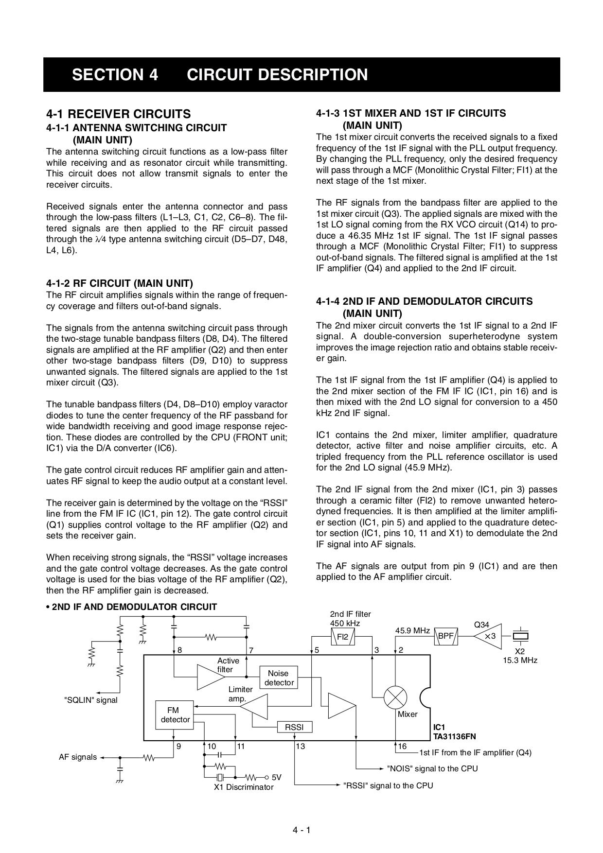 PDF manual for ICOM 2-way Radio IC-F121