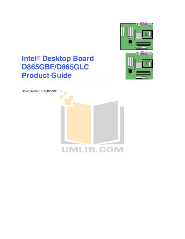 pdf for Biostar Other 865GV Micro 775 Motherboard manual