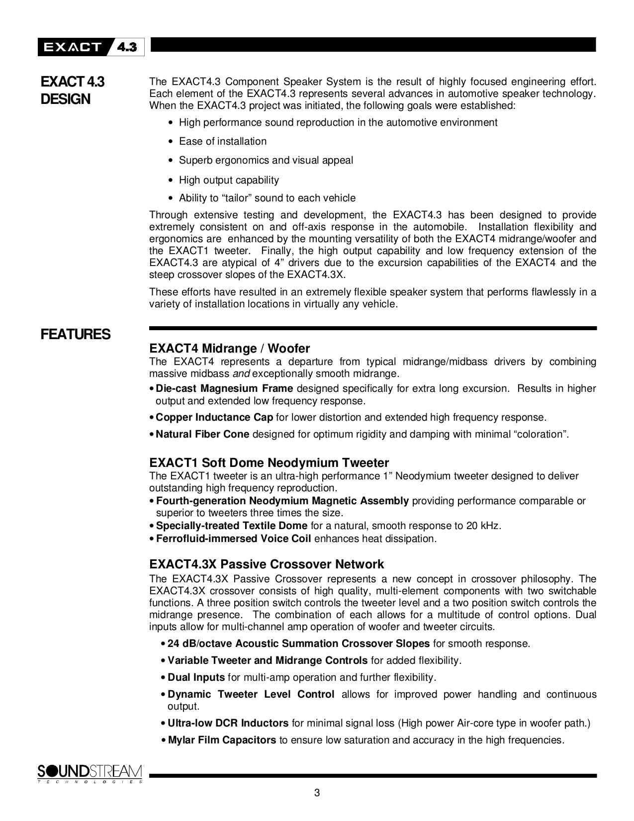 PDF manual for Soundstream Speaker SPL-60