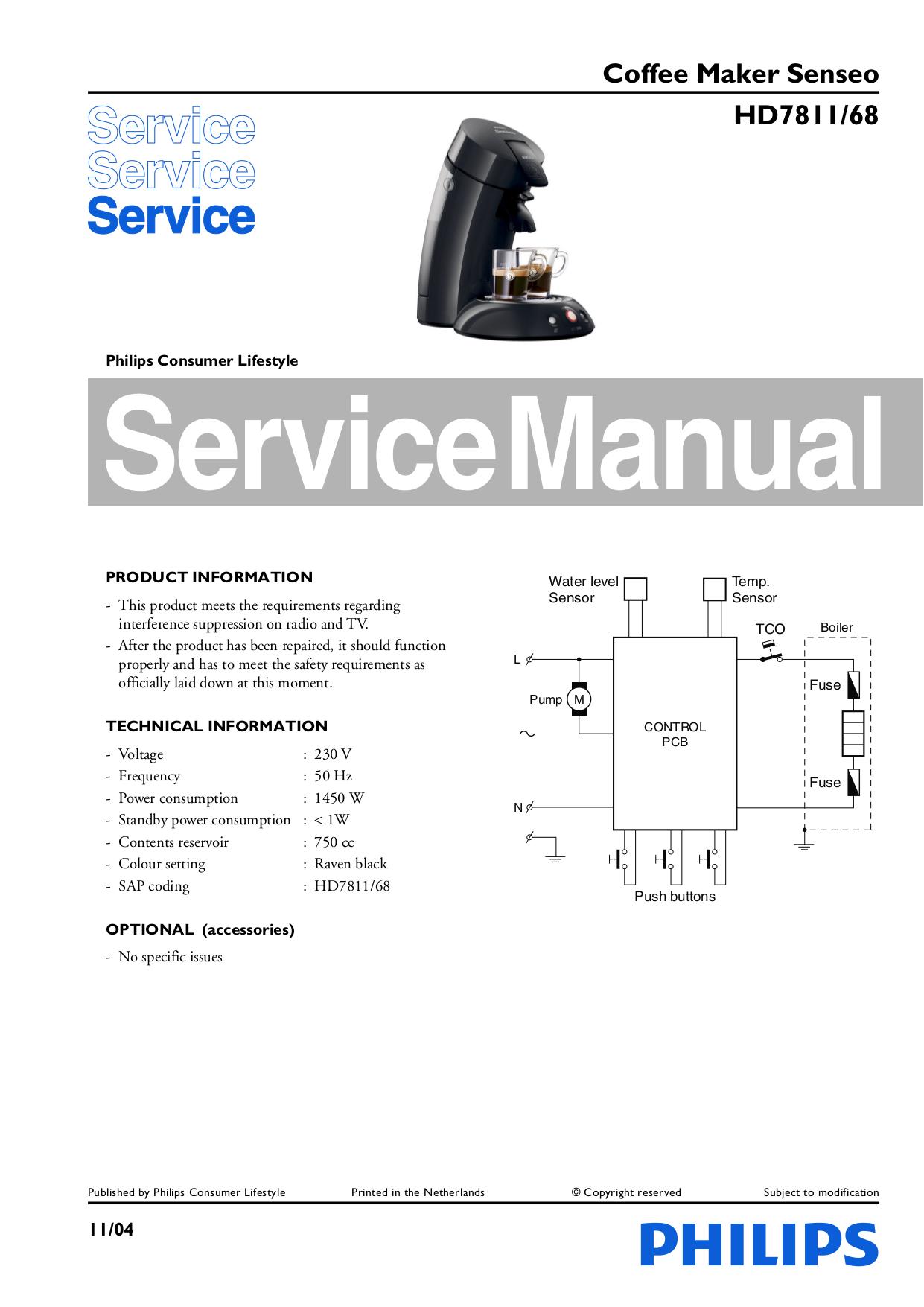 download free pdf for philips senseo hd7811 65 coffee maker manual rh umlib com philips senseo manual english philips senseo manual hd7825