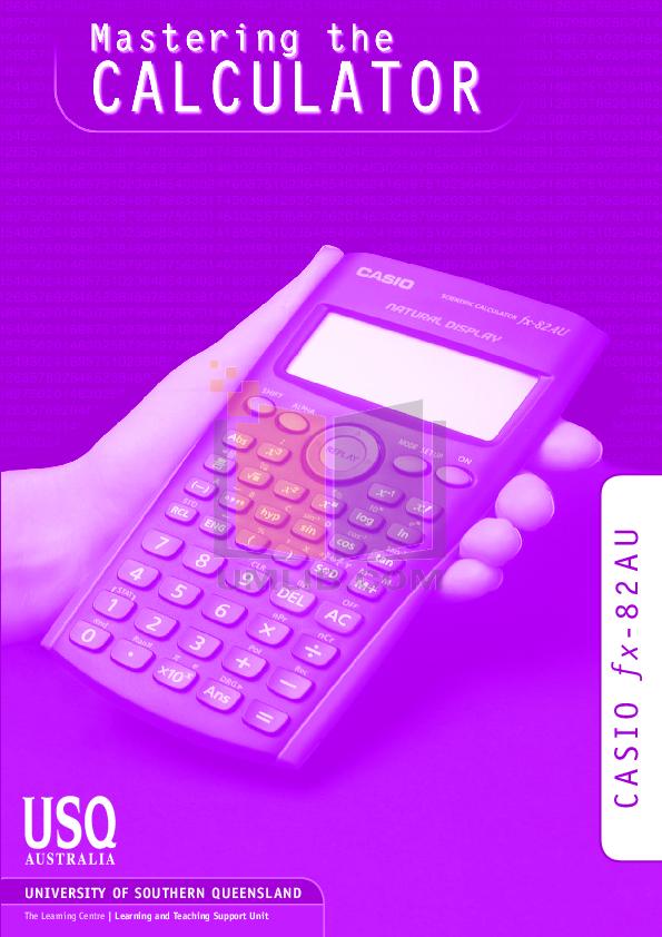 casio fx-82au plus pdf