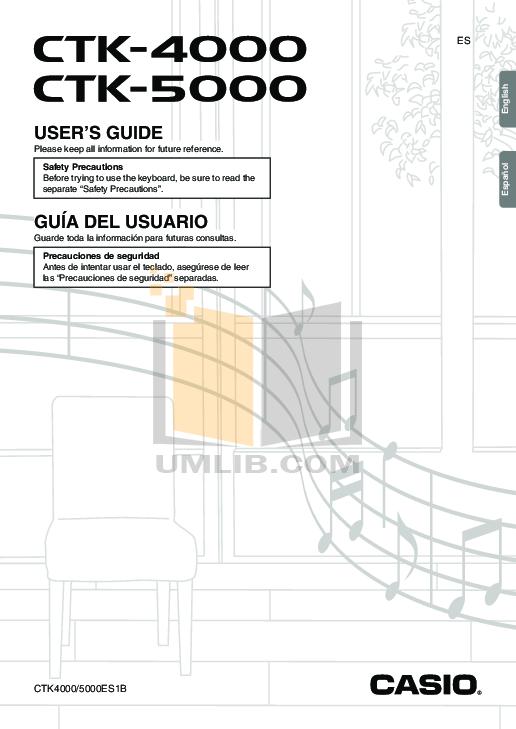 download free pdf for casio ctk 5000 music keyboard manual rh umlib com casio ctk 5000 manual pdf manual casio ctk 5000 español