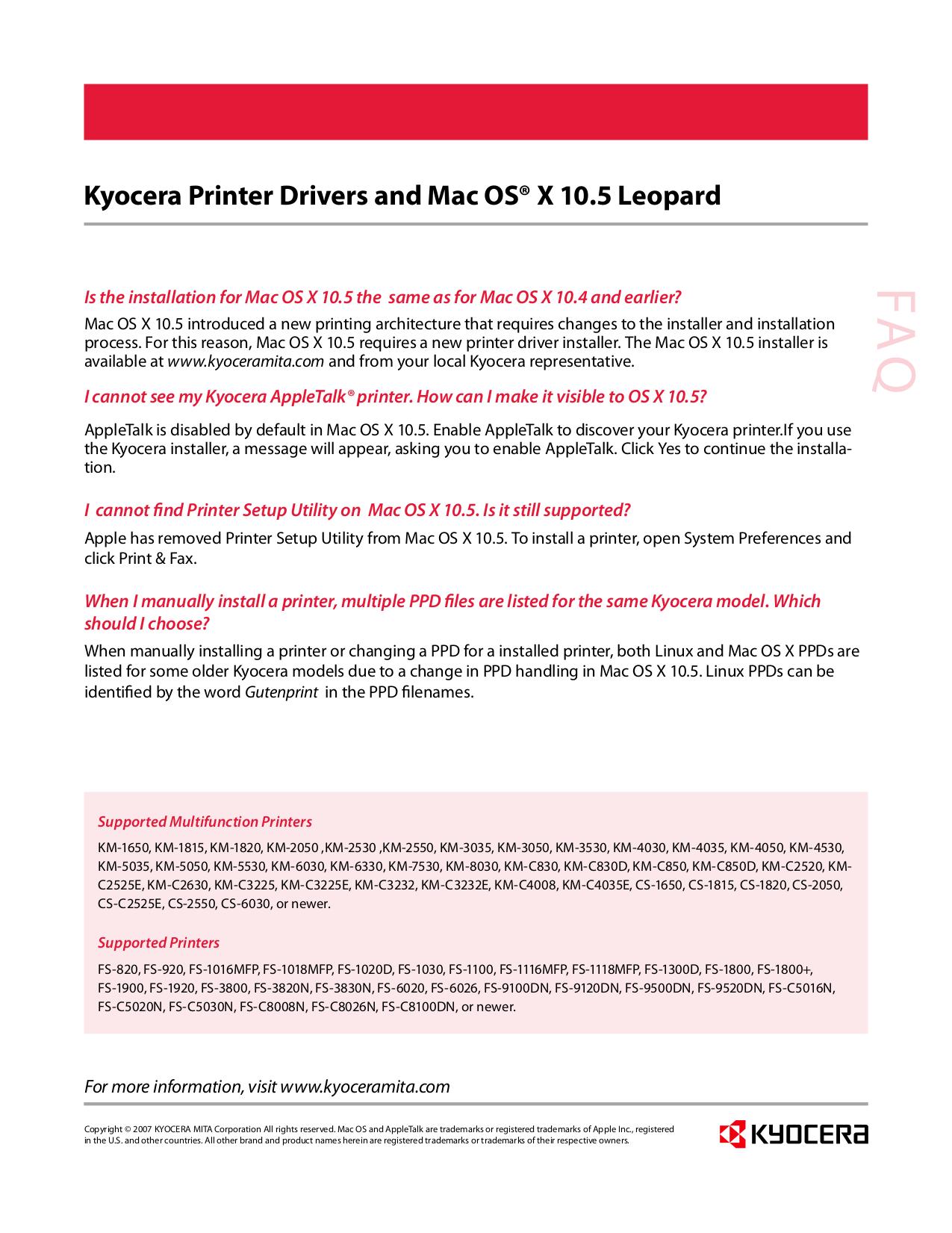 kyocera km 2050 service manual