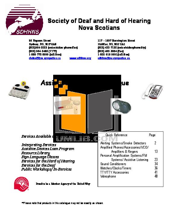 pdf for Ameriphone Other Wake Assure Alarm Clock Alarm Clocks manual