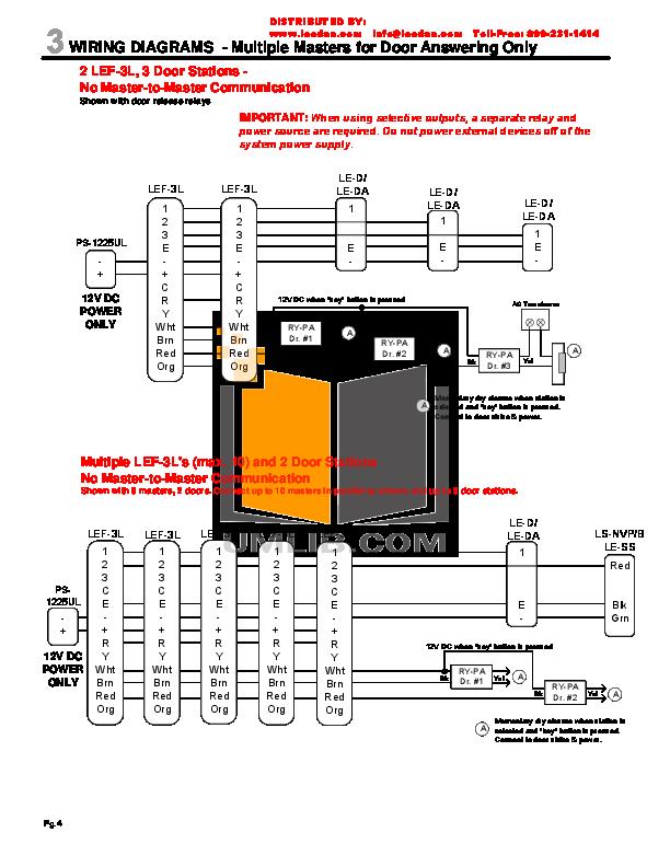 Aiphone Intercom Wiring Diagram Aiphone Circuit Diagrams ... on
