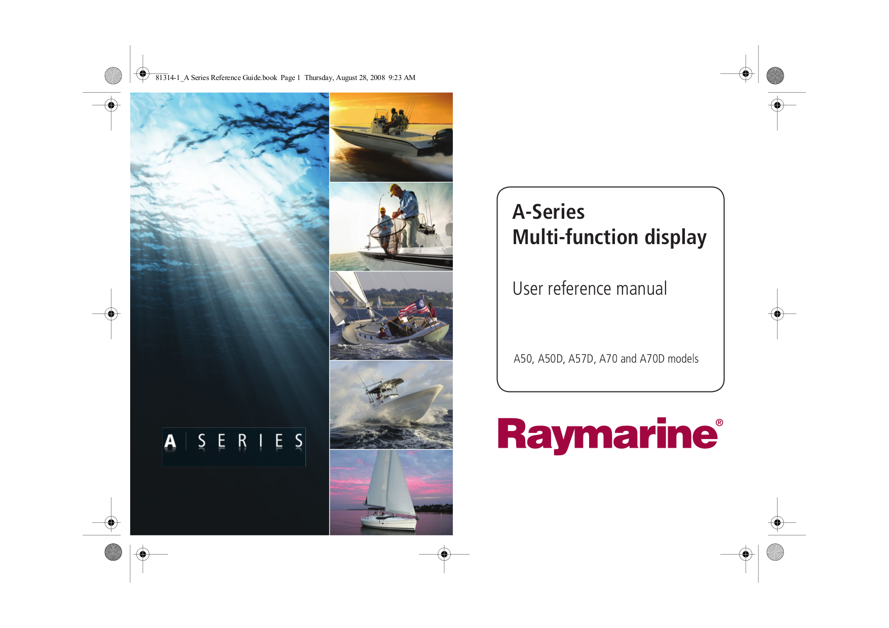 pdf for Raymarine GPS Autohelm 6000 manual