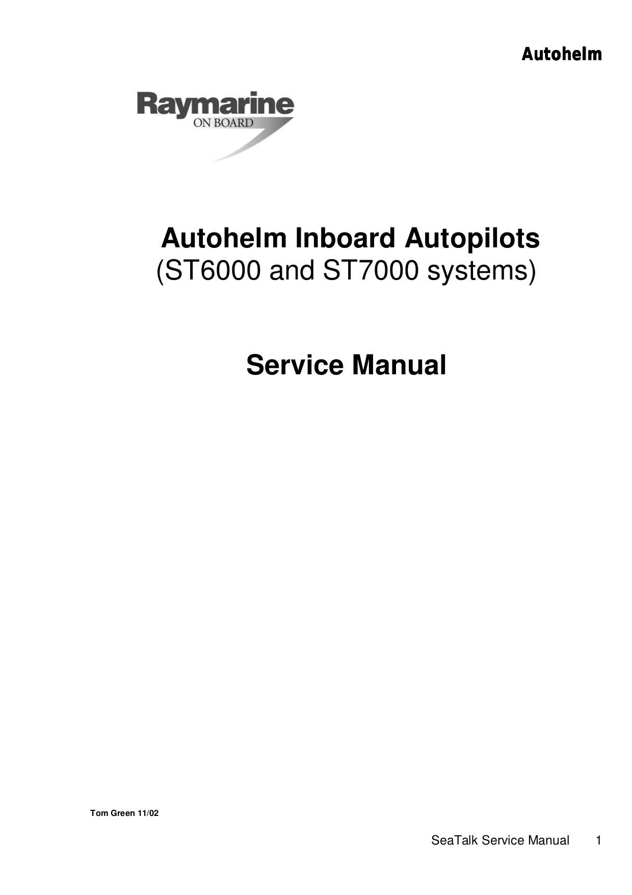ST_Inboard_service_manual.pdf 0 download free pdf for raymarine autohelm 6000 gps manual autohelm 6000 wiring diagram at honlapkeszites.co