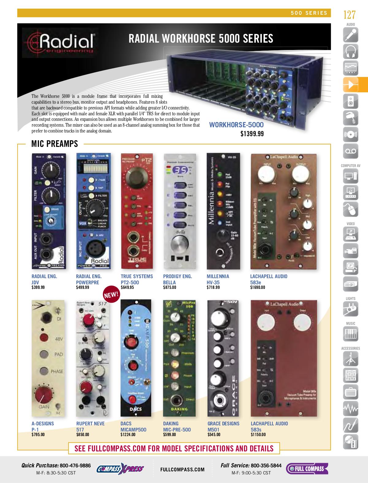 pdf for Owi Speaker AMPIC5 manual