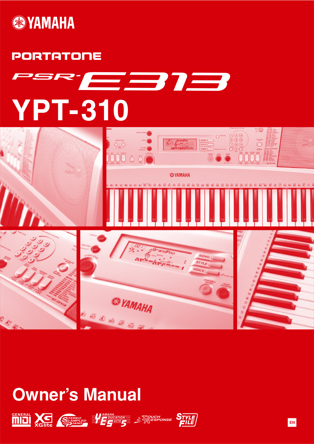 pdf for Yamaha Music Keyboard CP-70M manual