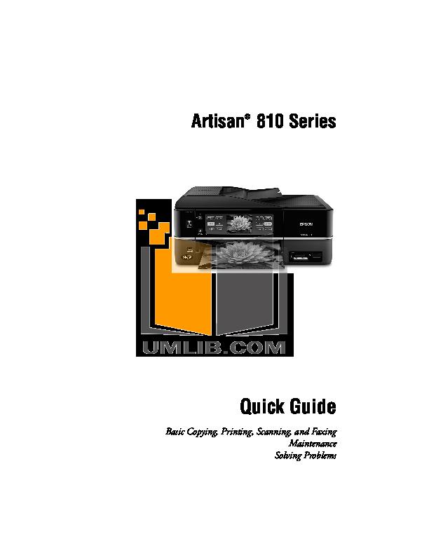 download free pdf for epson artisan 730 multifunction printer manual rh umlib com epson artisan 730 printer driver download Epson Artisan 730 Cant Connect to Wi-Fi