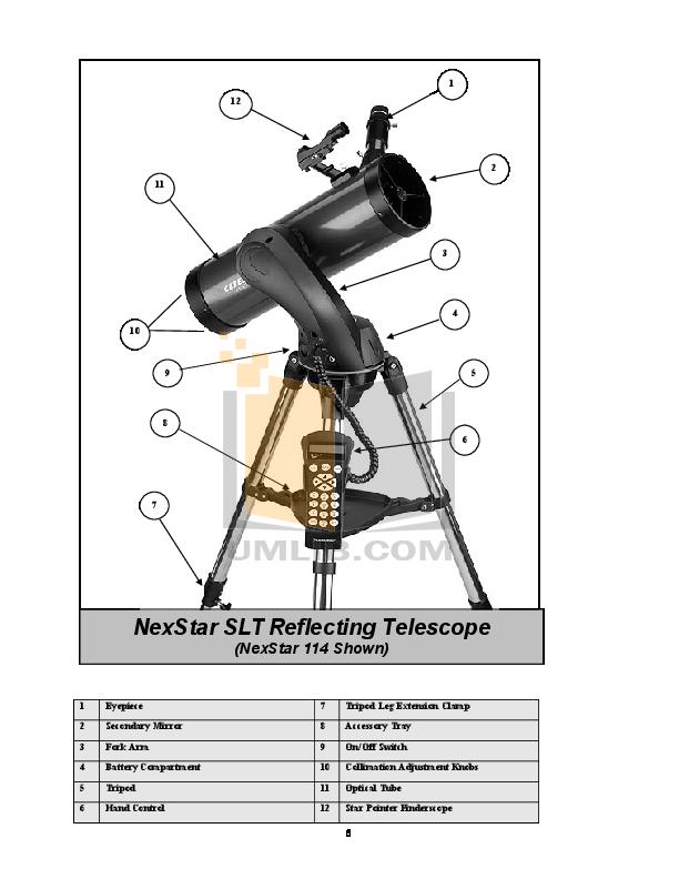 pdf manual for celestron telescope nexstar 130slt rh umlib com celestron nexstar 130 slt instruction manual celestron nexstar 130 slt user manual