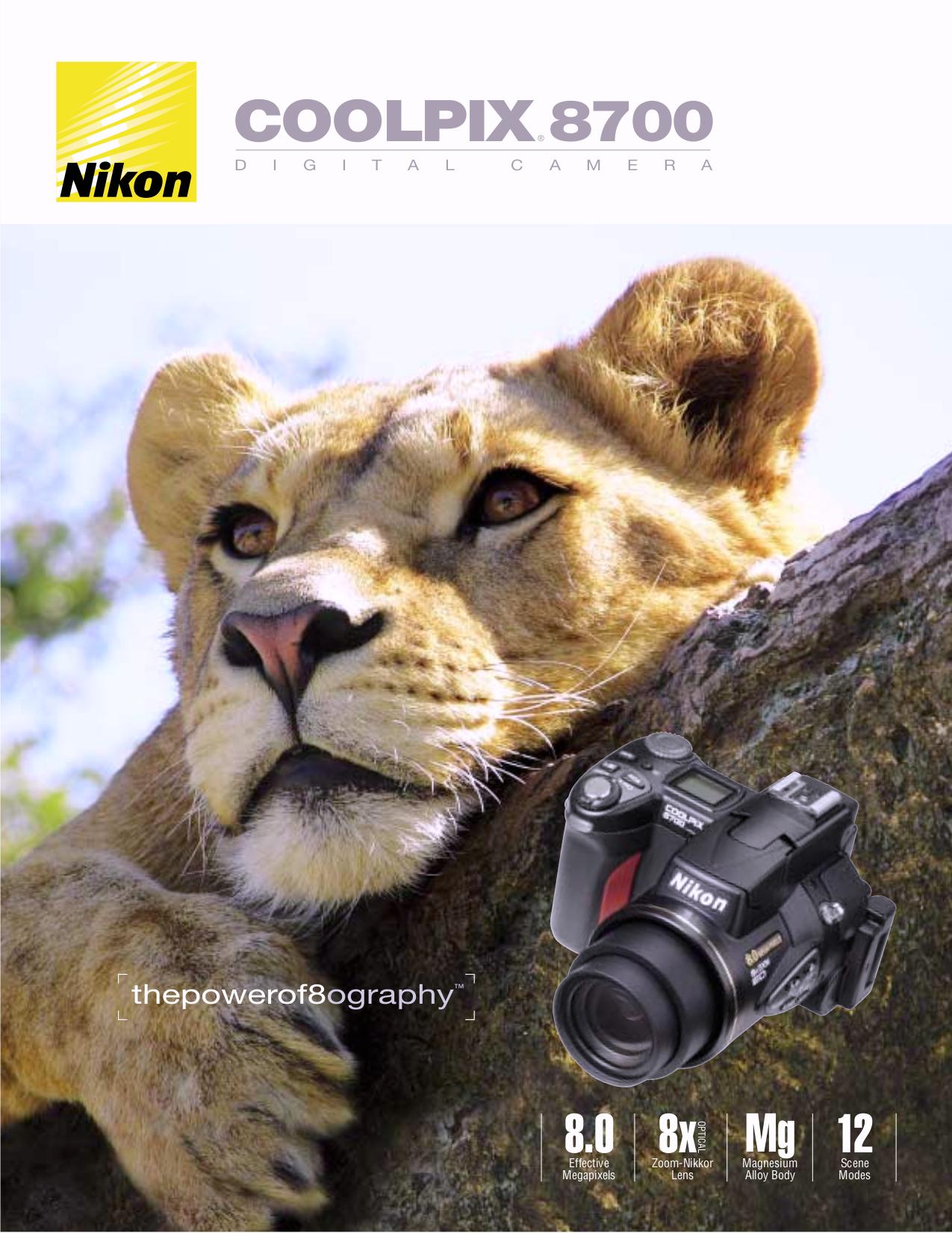 pdf for Nikon Other TC-E15ED Camera Telephoto Converter Lens manual