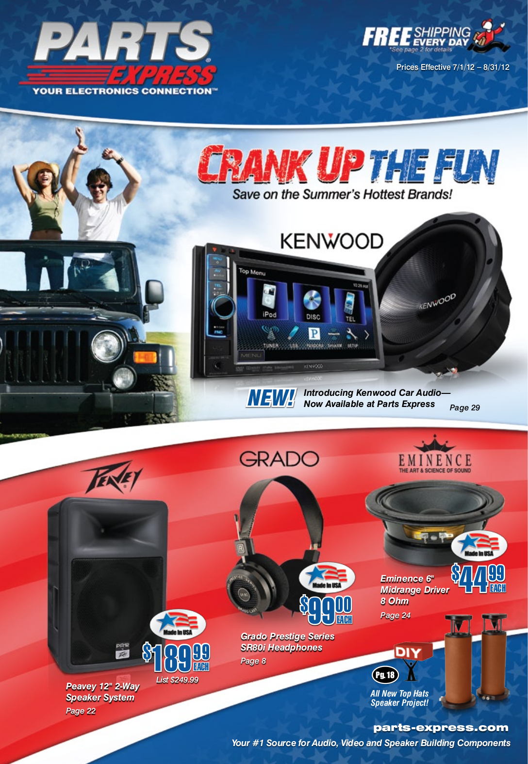 pdf for Kenwood Amp KAC-818 manual