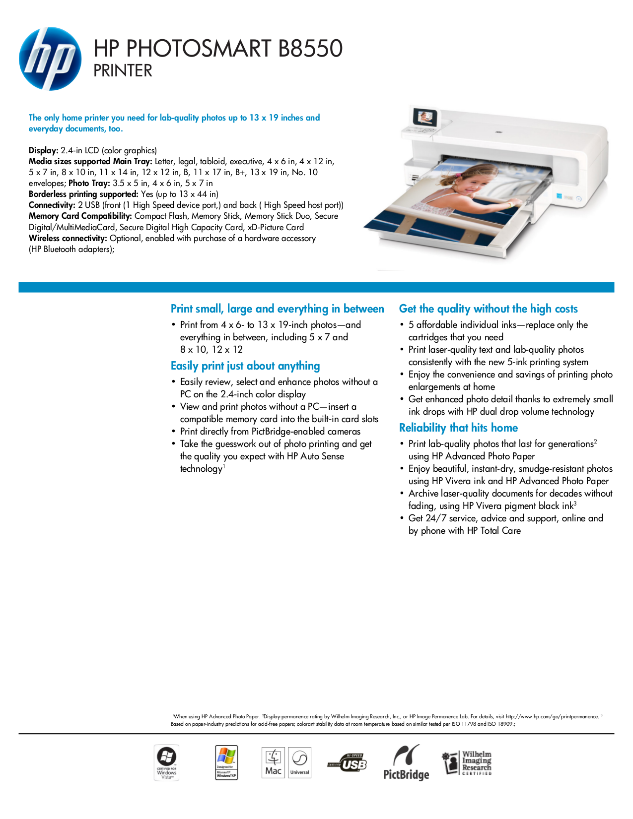 Hp b8550 manual array download free pdf for hp photosmart b8550 printer manual rh umlib com fandeluxe Gallery
